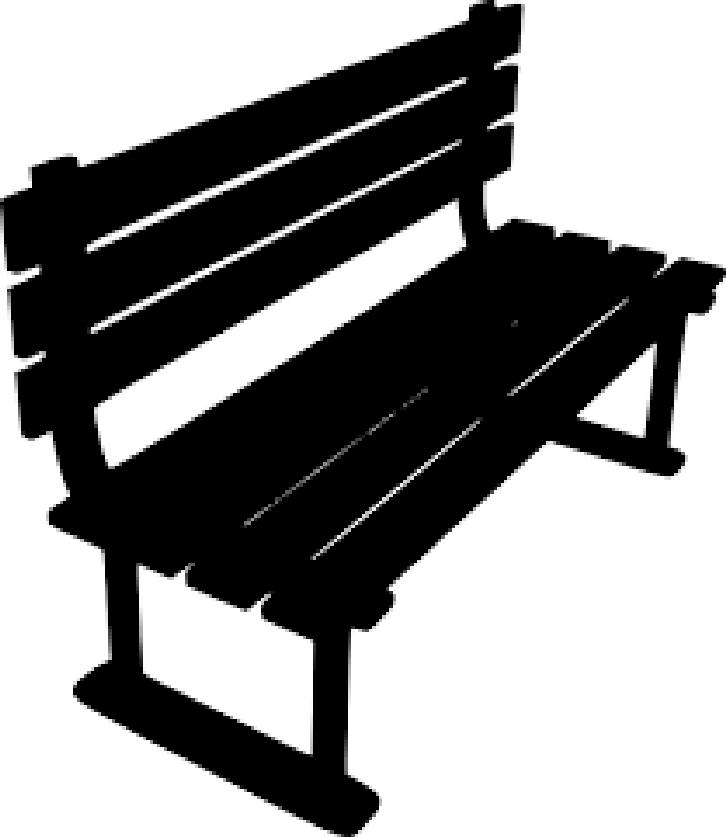 Flipped bench