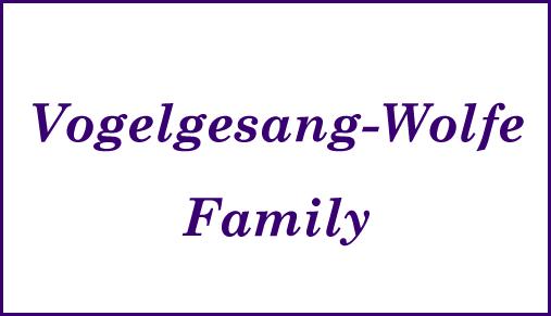 Vogelgesang-Wolve Angel Logo